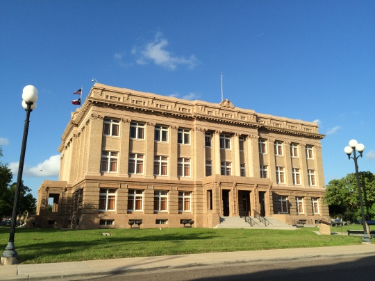 The Cameron County Courthouse in Brownsville, Texas.